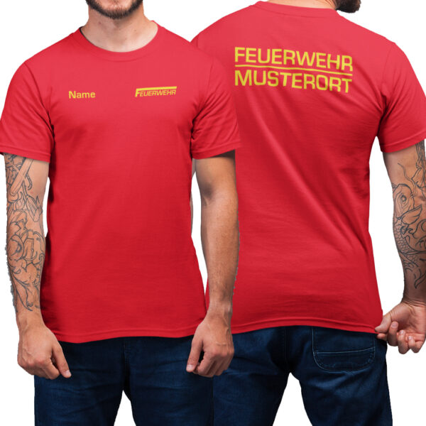 T-Shirt Männer | Feuerwehr Classic Basic